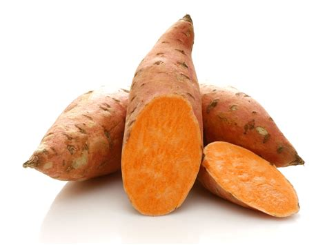 sweet potato selection and storage information