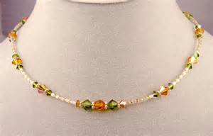 Handcrafted Beaded Necklaces - unique one of a handcrafted beaded jewelry beaded
