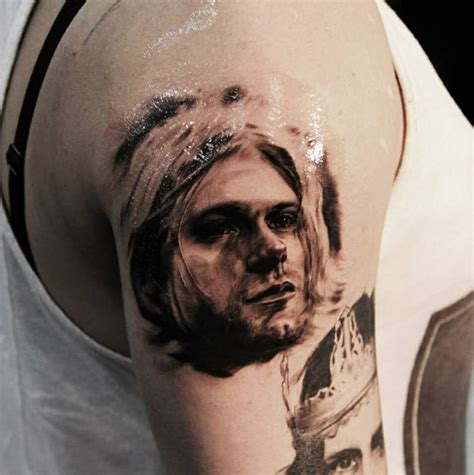 kurt cobain tattoos of kurt cobain kurt cobain tattoos