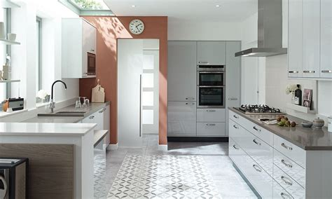 dove grey kitchen cabinets porter contemporary gloss kitchen in grey