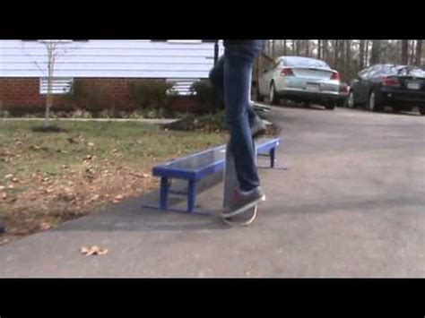 mojo skate bench mojo bench and element flatbar rail sesh youtube