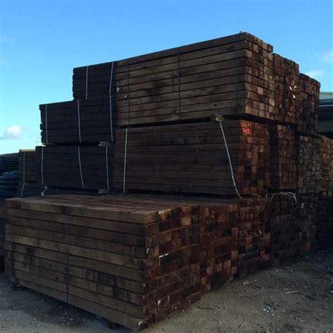 New Hardwood Sleepers by New Hardwood Railway Sleepers Morgans Builders Merchants