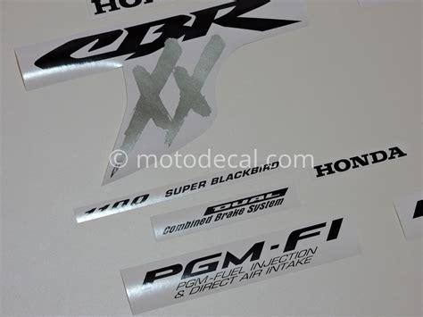Buy Wholesale Honda Decal Kit - honda cbr 1100xx 2002 2004 silver decal kit by motodecal