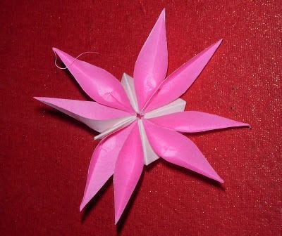 Origami 4 Petal Flower - origami 8 petal flower origami challenges bring it on