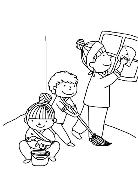 serving others coloring pages coloring page