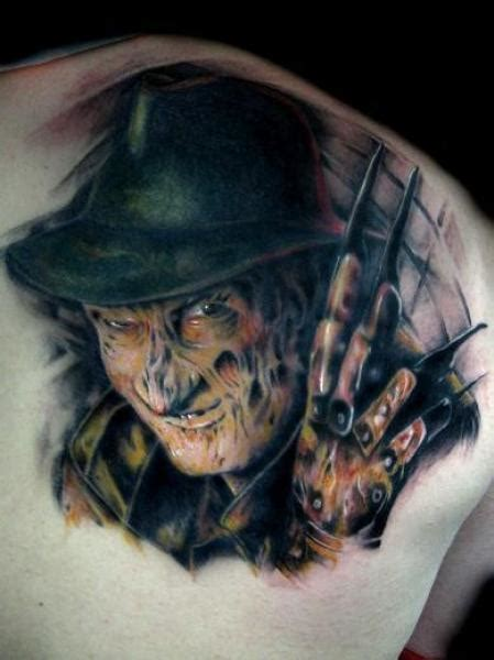 freddy krueger tattoo best freddy krueger tattoos artists