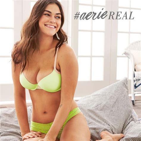 aerie lingerie reveals unretouched campaign