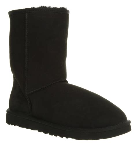 ugg boots black ugg classic ugg boot in black for lyst