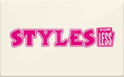 sell styles for less gift cards raise - Styles For Less Gift Card