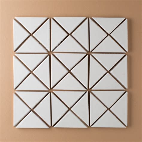 triangle pattern tiles try any of our triangle tiles in a single color in a