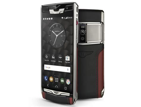 vertu phone touch screen bentley signature touch phone by vertu from rm40k