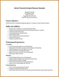 Job Resume: Financial Analyst Resume Sample Financial