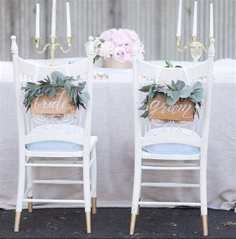 and groom chairs and groom chair signs 42 handmade wedding ideas
