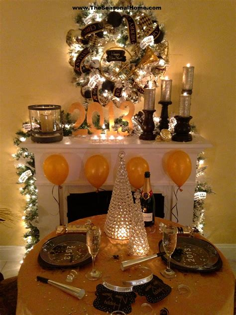 new year party decoration ideas at home cozy new year s eve dinner party at home 171 the seasonal home