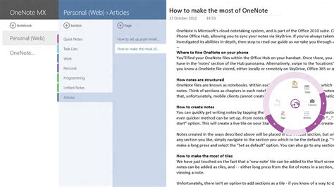 windows 8 onenote tutorial making the most of onenote