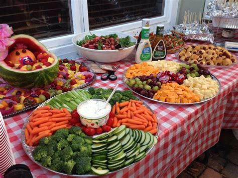 backyard party menu 17 best ideas about outdoor party foods on pinterest