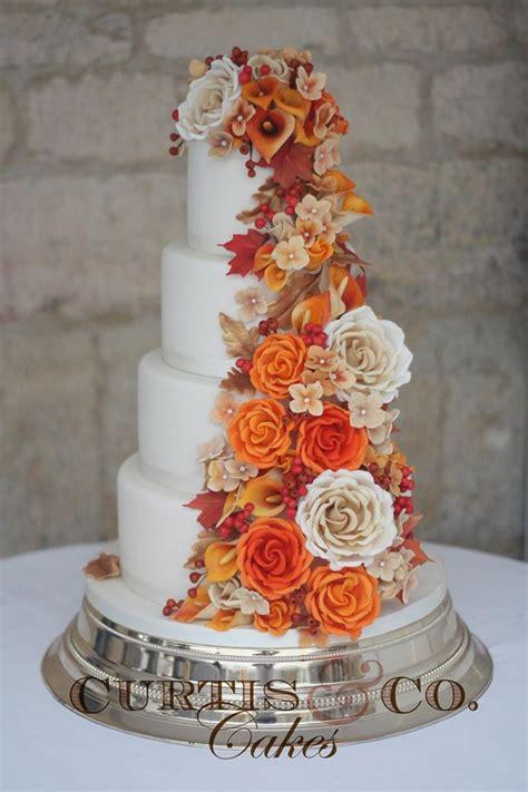 Wedding Cake Autumn by Autumn Colour Scheme Orange Chwv