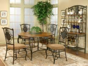 Shopzilla wrought iron dining tables chairs dining room