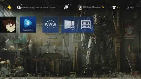 ps4 themes fallout fallout 4 garage theme review youtube