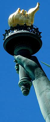 statue of liberty arm with torch new york visitor information guide cheap hotels