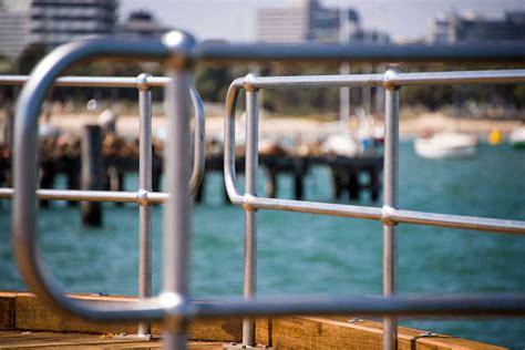 Galvanised Handrail Systems galvanised tubular handrail metal mates