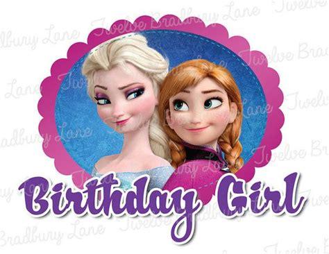 film frozen happy birthday anna frozen birthday girl disney iron on transfer anna elsa
