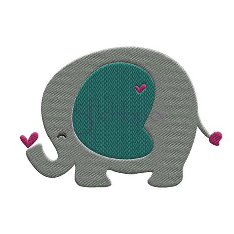 Elephant Embroidery Design   Stitchtopia