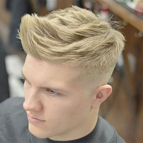 Textured Top Faded Sides | how often should you get a haircut