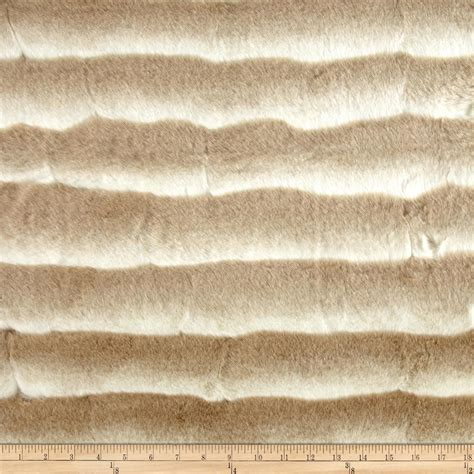 fur upholstery fabric shannon wild chinchilla faux fur beige white discount