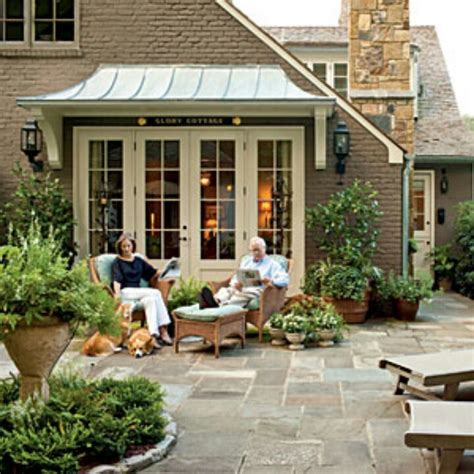 french door awnings awning over french doors homes exteriors pinterest