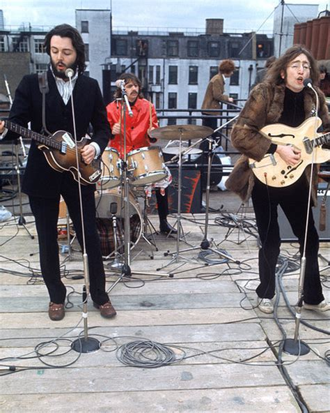 the beatles don t let me down rooftop the beatle in rs 6 let it be rooftop finale photo the