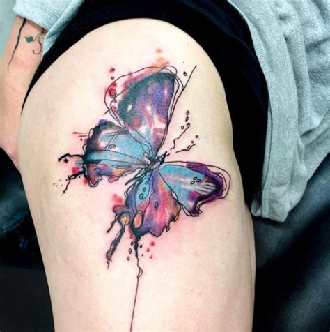 35 breathtaking butterfly tattoo designs for women