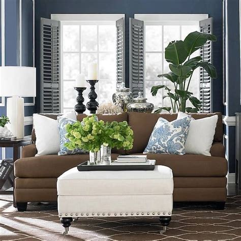 blue and brown living room decor blue and brown living room decor pinterest grab decorating