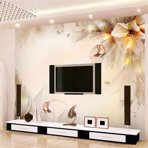 Living Room Wallpaper 3d Background by Mural Background Wall Wallpaper 3d Wallpaper