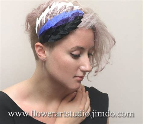 Wedding Hair Accessories Derby by Wedding Hair Accessories Black Purple Beige And Ivory
