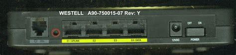 reset verizon router 7500 solved westell a90 750015 07 as a wireless router w o use