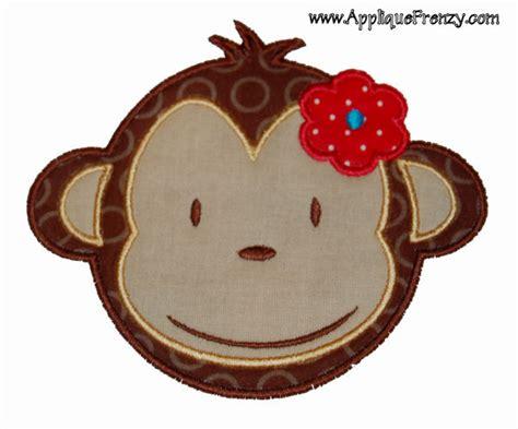 Monkey Applique by Monkey Applique Design