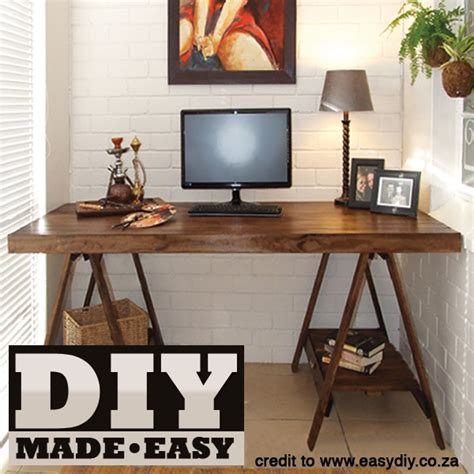 make your own desk make your own trestle desk