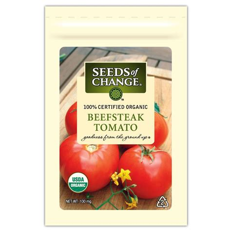 seeds  change tomato beefsteak  pack   home