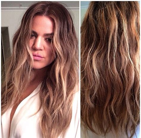 khloe kardashian dyes hair blonde photos style news 22 best images about dip dye hair ideas on pinterest