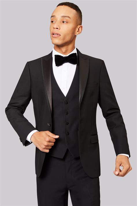 Tuxedo Black moss fit black tuxedo jacket