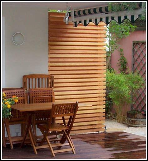 Sichtschutz Holz Terrasse by Sichtschutz Terrasse Holz Obi Terrasse House Und Dekor