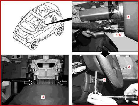 sostituzione candele smart smontaggio rimontaggio stacco riattacco volante smart