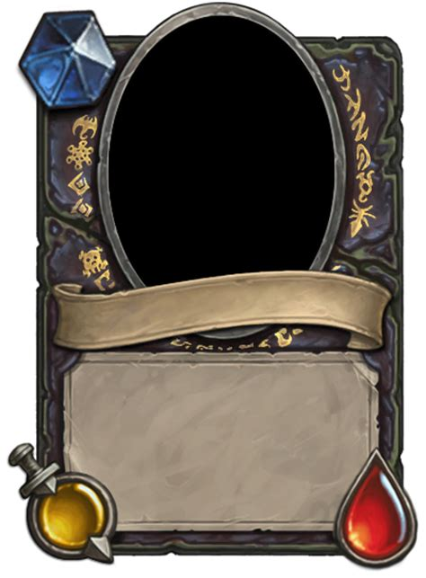 hearthstone gold card template is it possible to add new custom class card border in