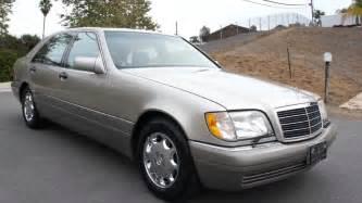 S420 Mercedes 1995 Mercedes W140 S420 S600 S500 V8 4 2l Saloon 1