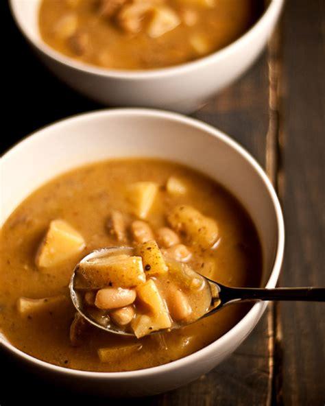 potato bean soup the vegan road