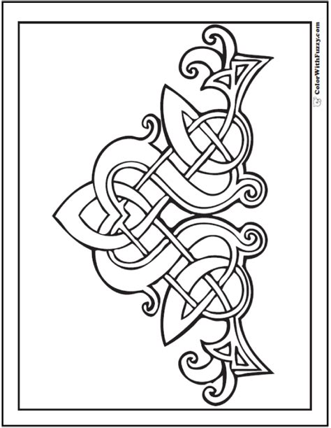 90 Celtic Coloring Pages Irish Scottish Gaelic Scottish Designs
