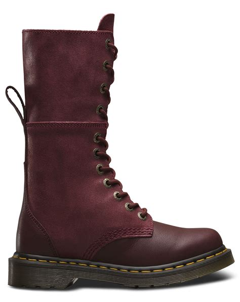 dr martens hazil virginia suede slouch leather