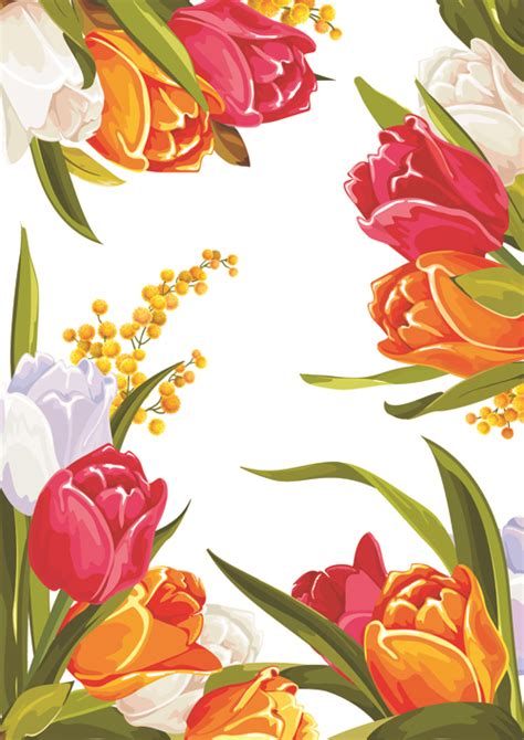 flower design images colored beautiful flowers design graphics vector flower