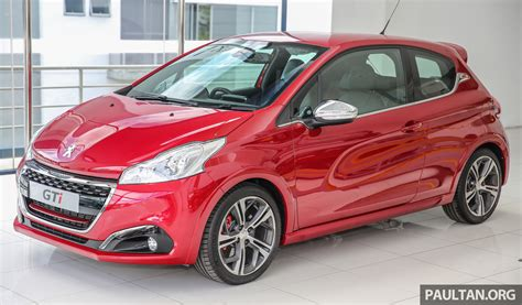 peugeot 208 gti peugeot 208 gti facelift now in malaysian showrooms image